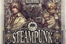 Steampunk, Victorian Style, & More / This started out as a Steampunk Board but has evolved to include space for Victorian era clothing and props. I've also included elements of DieselPunk, Weird Western, and others. Basically, this is a place for fantasy civilizations that don't exist but should. / by Comics A-Go-Go!