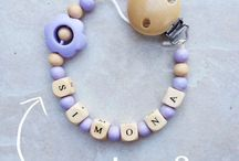 Pacifier Clips  / For any orders email me at verageier@ymail.com / by Vera Geier