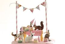 Kids Birthday Party Ideas / Mix of themes and ideas for cake & party decor / by Christina Sheets
