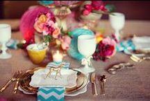 table settings / table settings for the fabulous