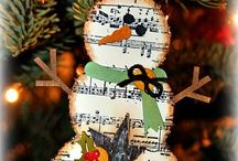 Christmas crafts / Fun things to make for the holidays / by Christine Haden