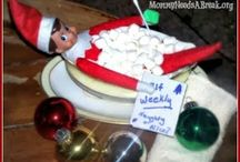 That Silly Elf-- ideas for Elf on the Shelf / Elf on the Shelf ideas. / by Melissa @Serendipity and Spice