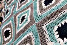 crochet blankets / afghans, blankets, rugs, etc... / by Emma Rain