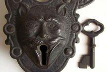 Antique Keys and Locks / Antique Keys and Locks / by Christine Haden