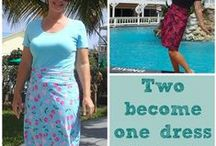 Fashion - Re-Fashion / Frankenstein-ing your clothes to make them more awesome! / by Carrie