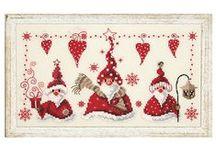 Идеи для дома на Новый год/ Ideas for New Year / Елочки, венки, снежинки, игрушечные елочные шары, снеговики, олени, новогодние узоры и многое другое.