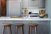 cool kitchens / Neutral, colourful, modern or timeless, a good looking kitchen is a good looking kitchen.