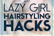 hairdos, makeup, and nails