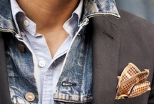 Man Style / Suit. Tie. Watch. Flannel. Denim. Beards. Tattoos. Swoon-worthy style.  / by Marq Fleet