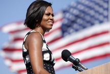FLOTUS FASHIONS / MICHELLE OBAMA. 'Nuff said.    / by Marq Fleet