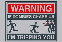 Funny Zombie Shirts / Funny, hilarious zombie t-shirts and hoodies for men, women and kids.