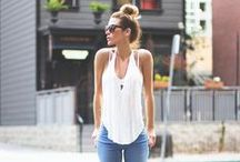 White shirt and jeans / by Tog+Porter