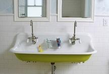 Boys' bathroom / by Eve Fox :: The Garden of Eating