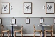 E A T / D R I N K / S H O P / restaurant, cafe, boutique interior design / by I L E K T R A  / D E S I G N