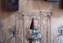 Pascal Palun Living Art / Pascal Palun is one of my favorite artists! Her work and her house are faboulus!!