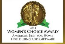 Women's Choice / Lenox is recognized by Women's Choice as a trusted brand. / by Lenox