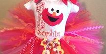 Posh Baby Store 1st Birthday Tutus / First Birthday Tutu Outfits | Baby Birthday Tutus | Infant 1st Birthday Tutus | Birthday Elmo | Birthday Abby Cadabby | Birthday Minnie Mouse | Birthday Disney Themed Outfits