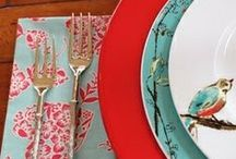 Chirp Chic / Colorful and sweet, this casual pattern is fun and fashionable / by Lenox