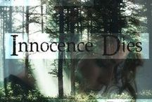 Innocence Dies Storyboard / ~NaNoWriMo 2014~      When China declares war on North America, the government crashes and chaos breaks out everywhere.   Leah Belle and her brothers are forced to flee into the woods after devastation hits them. Here, they take in other refugees, creating a safe haven for fellow civilians, who are being hunted down and killed by the enemy.    Leah and her new family must now struggle to survive against impossible odds.      / by Teal Nassir