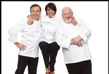 The French Chefs / Chefs Daniel Boulud, Dominique Crenn and Michel Richard  team up for a collection that is magnifique! / by Lenox
