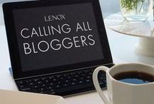 Getting Social / Facebook, Instagram, Pinterest and blogging...we love to connect! / by Lenox