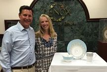 Lenox Factory Tour Winners / The winners of the Lenox China DIY Contest tour the factory in Kinston. / by Lenox