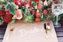 Fall Weddings / Fall in love with fall weddings <3 / by Lenox
