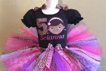 Doc McStuffins Birthday Tutus / Cute Girls Birthday Tutus Featuring Our Popular Doc McStuffins!