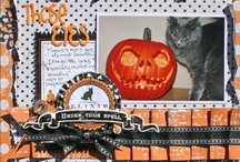 Scrapbooking - Halloween / Halloween scrapbook ideas. / by Spotted Canary