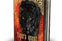 Tiger's Quest / What images inspired me as I wrote Tiger's Quest.