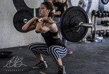 Crossfit / Fitness / Weights / by Clare Wilson