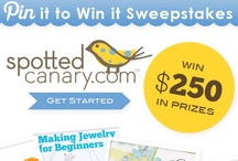 Stuff You Can Win / Contests, sweepstakes & more from your friends at Spotted Canary!