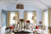 Living / Family Room / by Rene' Domenzain