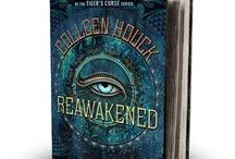 Reawakened / Pins that inspired the book Reawakened