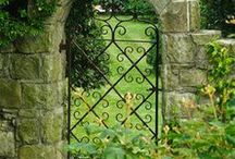 Gates for our entry way... / by Leslie Acevedo