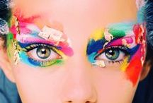 For the Love of Color / Bright, colorful and full of CHEER! Gotta love those bold pops of color!~