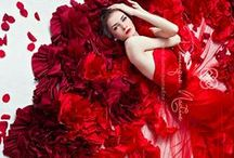 Radiant, Romantic Red / For those of us who find something wonderfully alluring about the color red, in all its uses! Home decor, fashion, accessories, food, you name it! Love, Romance, Beauty, Life, Radiance, Passion, Intensity, Vibrancy...RED / by Julia Di Sano
