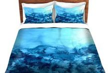 Ebi Emporium Duvet Covers / Is your #bedroom #decor and #bedding begging for a makeover? Does your #home decor or #dorm room need a style upgrade with some bold, beautiful #color and fine #art designs? Bring #rainbows and original #paintings into your space with Ebi Emporium #duvet #covers! ~ #decorative #bed #bedroom #dormroom #style #house #home #decoration #blanket #fineart #colorful #abstract #artwork / by Julia Di Sano