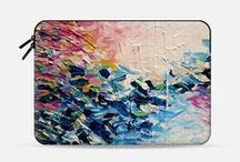 Ebi Emporium: Macbook Sleeves on Casetify / ***http://www.casetify.com/ebiemporium/collection*** This board is dedicated to featuring my Ebi Emporium #fineart #colorful #Macbook #laptop sleeve designs, which are available for sale on @Casetify for #MacbookPro and #MacbookAir models~ #abstract #painting #tech #gadget #laptopsleeve #MacbookSleeve #laptoptcase #art #fashion #style #stylish #chic #pattern #designer #design #cool #techie #Casetify #EbiEmporium Artist Julia Di Sano  / by Julia Di Sano
