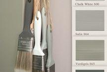 Painting the Past - Colourboard / Color scheme colors combination