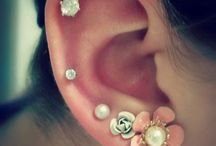 Piercings• / These are earrings I'd love to own. Also some other piercings I might get:) / by Kacie Sandidgeシ