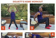 Dolvett's Home Workout / Skip the gym and try Dolvett's at-home workout! Learn all the motions for each individual exercise step-by-step and put them together for a quick, low maintenance workout anywhere.  / by The Biggest Loser