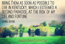 Let's See Kentucky / by Bax McClure