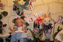 Mad Hatter's Tea Party  / This was  5Ft Display, based on the special limited edition set by Susan Gibson and Steiff.