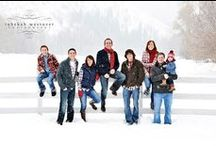 Photography - Winter Family Sessions / Inspiration on posing, attire, and locations for winter family photo shoots.