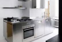 Cocinas de acero inoxidable