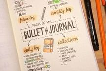 Get Organized! / Organization, Bullet Journal, bujo, planner, life hacks, schedule, planning, bujo spreads, bujo trackers, bullet journal trackers, tracking a habit, how to plan your week, how to schedule in a bullet journal, time management, organize your life, life plan, year plan, goal setting