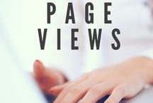 Blog Traffic / blogging, traffic, SEO, audience, keywords, readers, page views, viewers, growth, analytics, social media