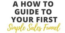Sales Funnels / sales, marketing, funnels, online, email, how to, blog, social media, advertising, products