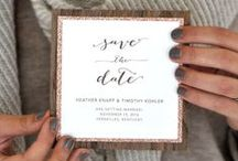 Invitations & Paper / Anything cute on paper for your wedding...Save the dates, invitations, programs, menus, place cards, signs, monograms, thank you cards- it is all found here!  / by wedding chicks